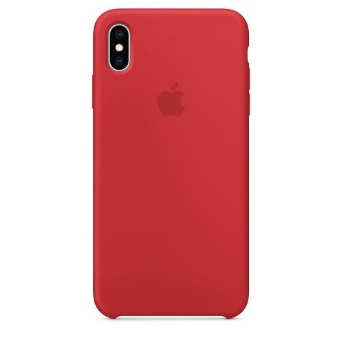 Чехол Silicone Case OEM for Apple iPhone XS Max (Product) Red: фото 2 - UkrApple