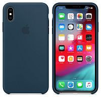 Чехол Silicone Case OEM for Apple iPhone XS Max Pacific Green