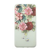 Чехол  накладка xCase для iPhone Х/XS Blossoming Flovers №12