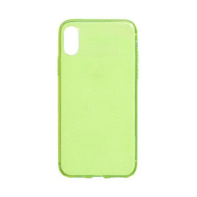 Чехол накладка X-Lever для iPhone X/XS Rainbow Case green