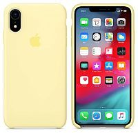 Чехол Silicone Case OEM for Apple iPhone XR Mellow Yellow