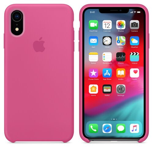 Чехол Silicone Case OEM for Apple iPhone XR Dragon Fruit - UkrApple