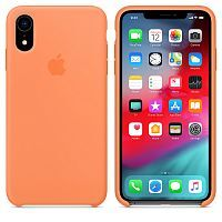 Чехол Silicone Case OEM for Apple iPhone XR Papaya