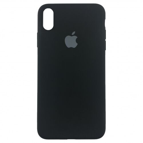 Чехол накладка xCase для iPhone X Silicone Slim Case Black - UkrApple
