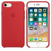 Чехол Silicone Case OEM for Apple iPhone 7/8/SE 2020 Red