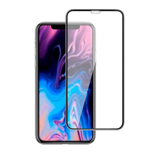 Защитное стекло  для iPhone 11 Pro Max/XS Max 0.33mm black тех.упак. - UkrApple