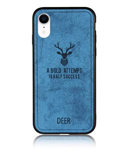Чехол накладка xCase для iPhone XR Soft deer blue - UkrApple