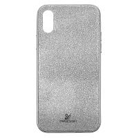 Чехол накладка xCase на iPhone X/XS Swarovski Case silver