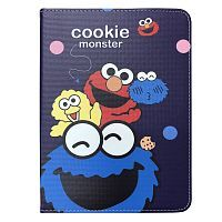 "Чехол Slim Case для iPad 9,7"" (2017/2018) Cookie Monster dark blue"