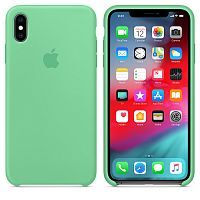 Чехол Silicone Case OEM for Apple iPhone X/XS Spearmint