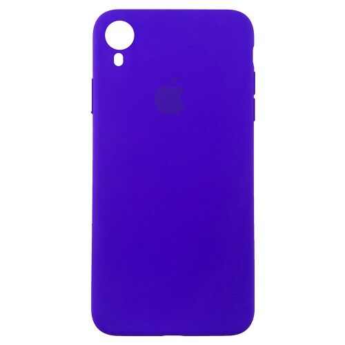 Чехол накладка xCase для iPhone XR Silicone Slim Case ultra violet Фото 1