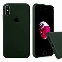 Чехол накладка xCase для iPhone XS Max Silicone Case Full Virid