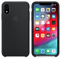 Чехол Silicone Case OEM for Apple iPhone XR Black