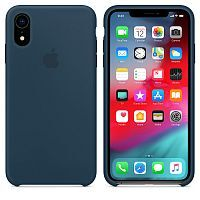 Чехол Silicone Case OEM for Apple iPhone XR Pacific Green