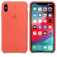 Чехол Silicone Case OEM for Apple iPhone XS Max Nectarine