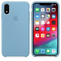 Чехол Silicone Case OEM for Apple iPhone XR Cornflower