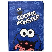 "Чехол Slim Case для iPad 9,7"" (2017/2018) Cookie Monster blue"