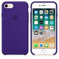 Чехол Silicone Case OEM for Apple iPhone 7/8/SE 2020 Ultra Violet