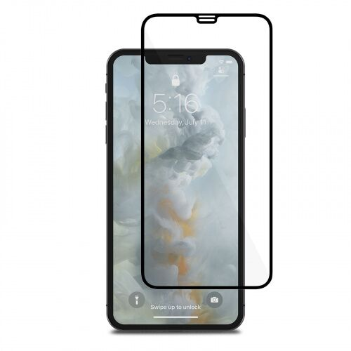 Защитное стекло 5D для iPhone 11 Pro Max/XS Max black - UkrApple