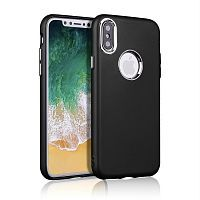 Чехол накладка xCase на iPhone XS Max Muscle Case Black