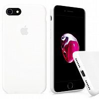Чехол накладка xCase для iPhone 7/8/SE 2020 Silicone Case Full white