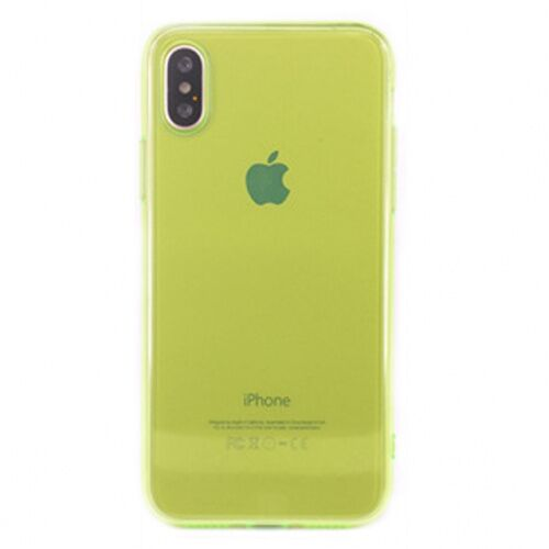 Чехол накладка xCase на iPhone XS Max Transparent Green - UkrApple