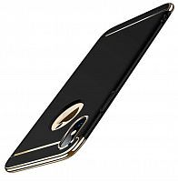 Чехол накладка xCase для iPhone XS Max Shiny Case black