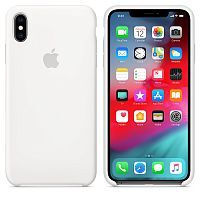 Чехол Silicone Case OEM for Apple iPhone X/XS White