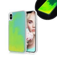 Чехол накладка xCase для iPhone XS Max Neon Case yellow