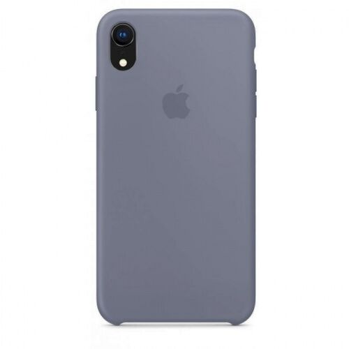 Чехол накладка xCase для iPhone XR Silicone Case lavender grey - UkrApple