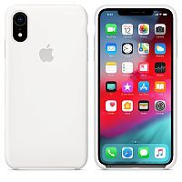 Чехол Silicone Case OEM for Apple iPhone XR White