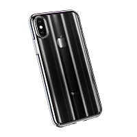 Чехол накладка Baseus для iPhone X/XS Aurora Case black