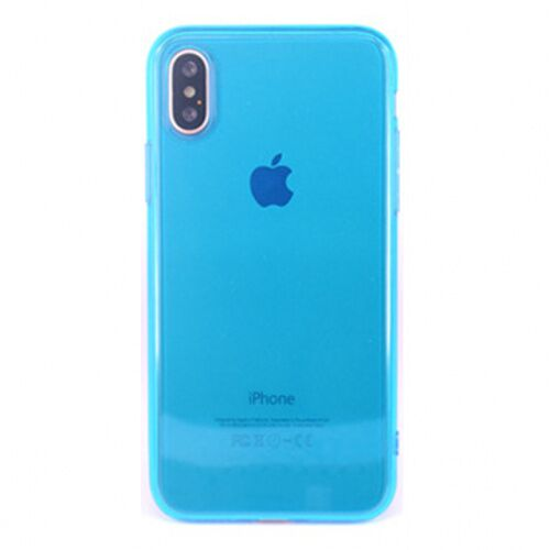 Чехол накладка xCase на iPhone XS Max Transparent Blue - UkrApple