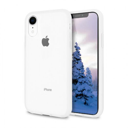 Чехол накладка xCase для iPhone XR Gingle series white