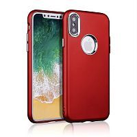 Чехол накладка xCase на iPhone X/XS Muscle Case Red