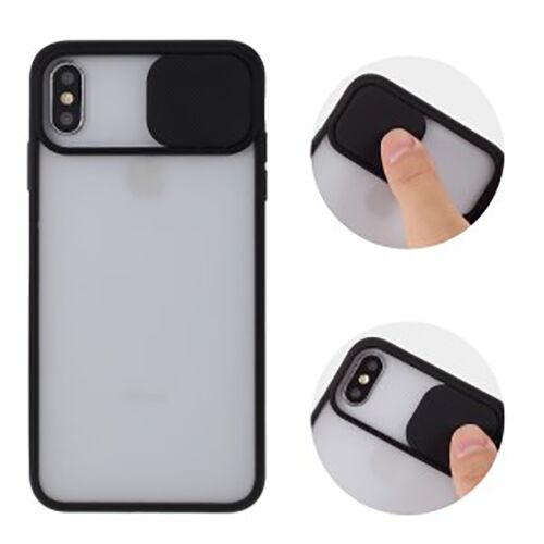 Чехол накладка xCase для iPhone XS Max Slide Hide Camera Black - UkrApple