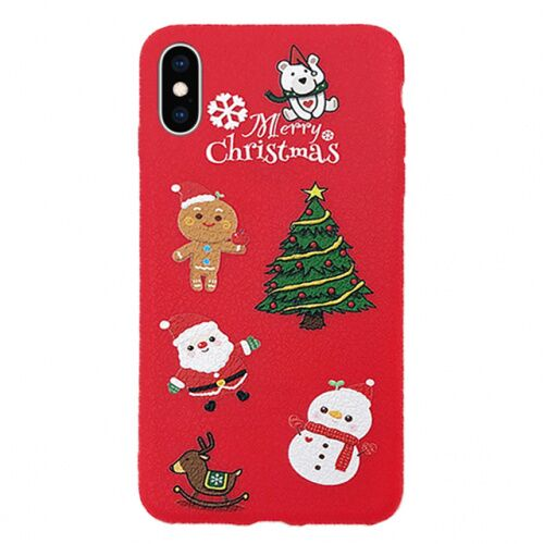 Чехол накладка xCase на iPhone XS Max Christmas Holidays №4