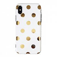 Чехол накладка xCase на iPhone XR Spotty White