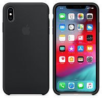 Чехол Silicone Case OEM for Apple iPhone X/XS Black