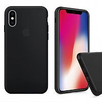Чехол накладка xCase для iPhone XS Max Silicone Case Full black