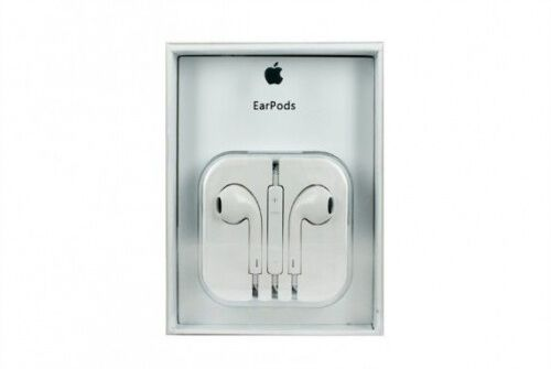Наушники Apple 3.5mm Earpods Original whit Remote and Mic (MD 827ZM-B) Box