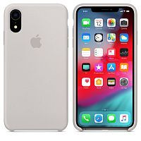 Чехол Silicone Case OEM for Apple iPhone XR Stone