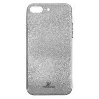 Чехол накладка xCase на iPhone 7 Plus/8 Plus Swarovski Case silver