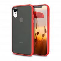 Чехол накладка xCase для iPhone XR Gingle series red