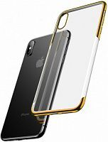 Чехол накладка Baseus для iPhone XS Max Shining Case gold