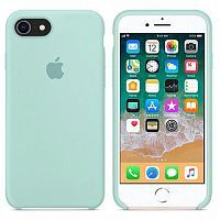 Чехол Silicone Case OEM for Apple iPhone 7/8/SE 2020 Marine Green