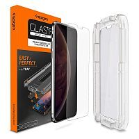 "Защитное стекло Spigen для iPhone XS/X Glass ""Glas.tR EZ Fit"" (1Pack) (063GL24823)"