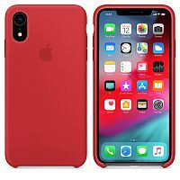 Чехол Silicone Case OEM for Apple iPhone XR (Product) Red