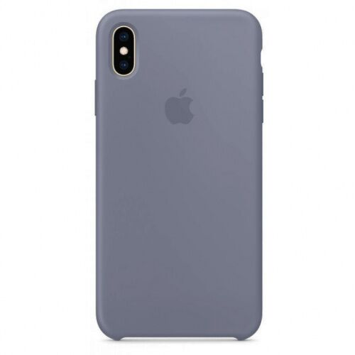 Чехол накладка xCase для iPhone XS Max Silicone Case lavender grey - UkrApple