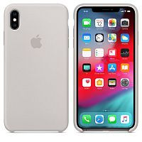 Чехол Silicone Case OEM for Apple iPhone X/XS Stone